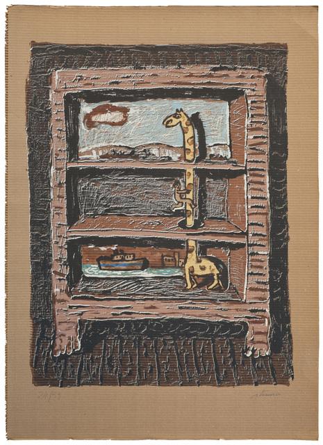 , 'El estante de arriba,' , Praxis Prints