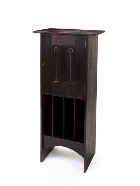 , 'Music Cabinet,' 1903, Oscar Graf