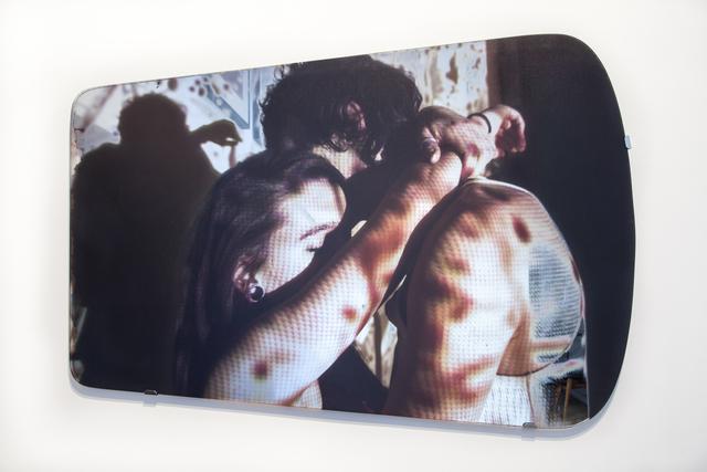 , 'Les Miroirs éblouis - Le baiser,' 2014, Galerie Christophe Gaillard