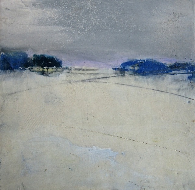 , 'Composition with Gray and Blue,' , West Branch Gallery