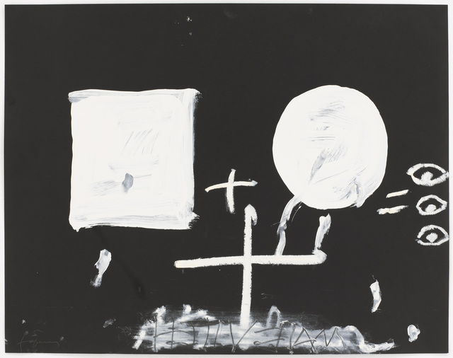 , 'Blanc sobre negre II,' 1999, Pace Gallery
