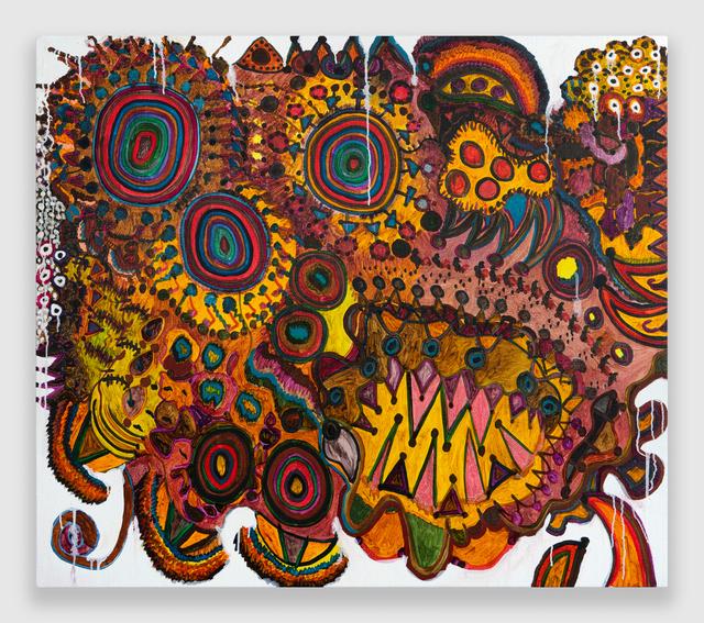 Rob Ventura, 'Pathogen VI (Rabies Virus)', 2020, Painting, Oil on Linen, PROTO Gallery