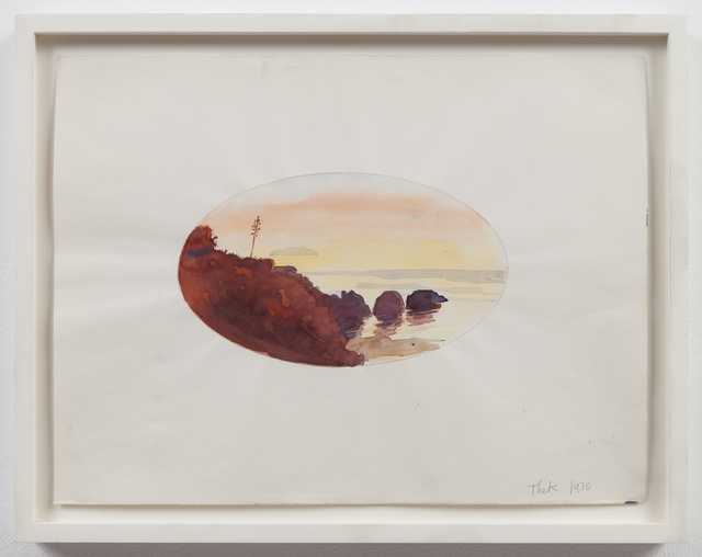 , 'Untitled (oval sunset),' 1970, Mai 36 Galerie