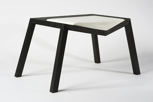 ", '""Pour"" seat,' 2012, Volume Gallery"