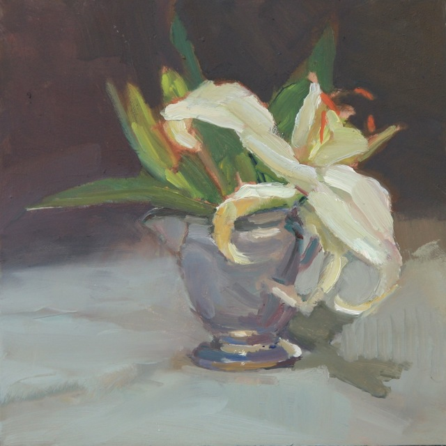 , 'Lone Lily,' 2014, Grenning Gallery
