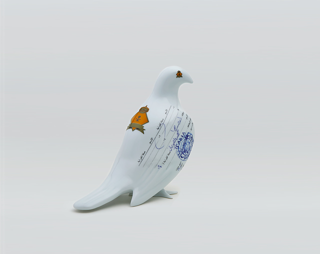 , 'Suspended together (Standing Dove),' 2008, Sabrina Amrani