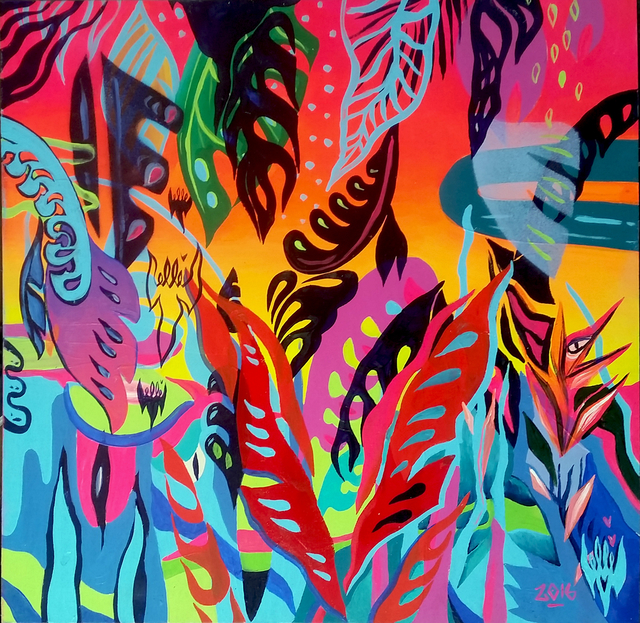 , 'Flouro Jungle,' , McCaig-Welles