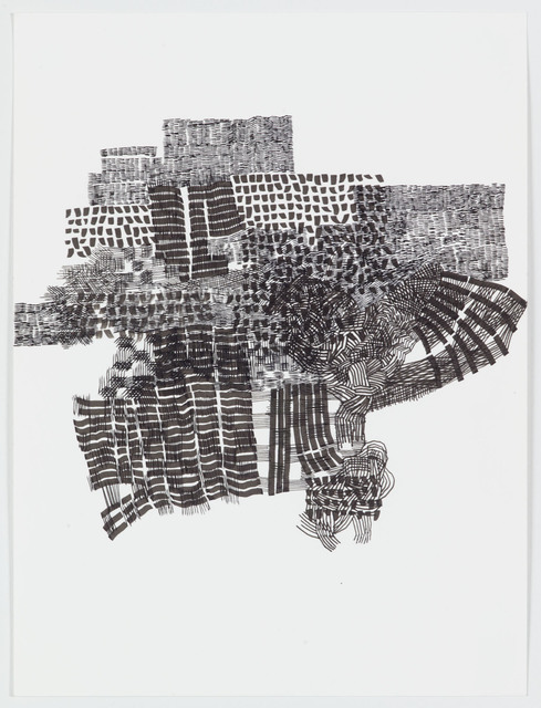 Alyse Rosner, 'Transfer', 2018, Drawing, Collage or other Work on Paper, Pen and ink on paper, Rick Wester Fine Art