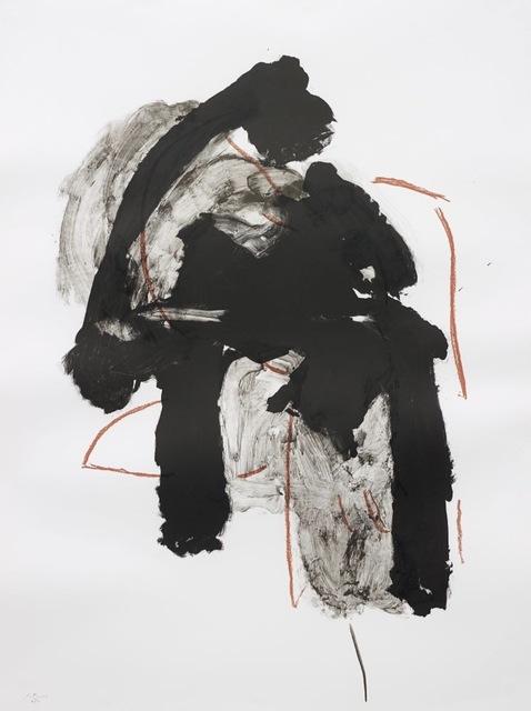 Robert Motherwell, 'Calligraphy I', 1989, Print, Lithograph, Kunzt Gallery