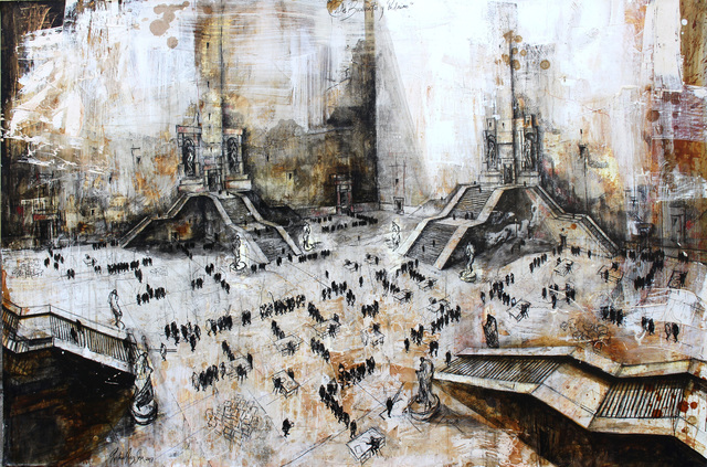 """, 'De la serie """"De burócratas y padrinos"""",' 2017, Victor Lope Arte Contemporaneo"""