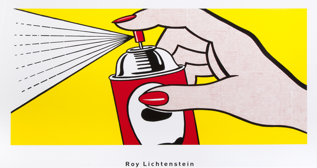 Roy Lichtenstein, 'Spray', 1962, Julien's Auctions