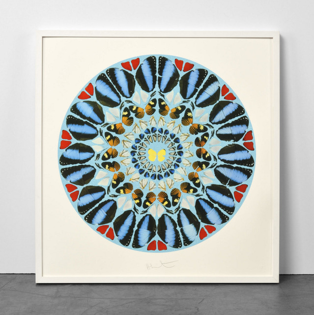 Damien Hirst, 'Damien Hirst, Psalm: Ad te, Domine, levavi (with Diamond Dust)', 2010, Oliver Cole Gallery