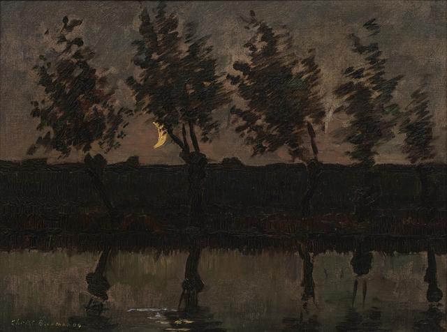 , 'Moonlit landscape,' 1904, Mireille Mosler Ltd.