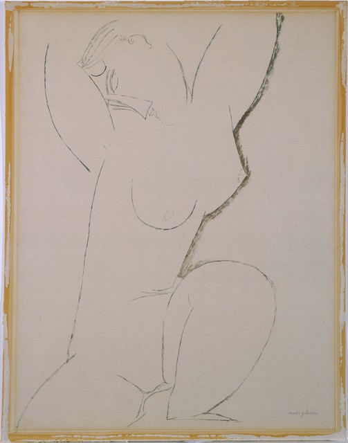 Amedeo Modigliani, 'Caryatid', date unknown, Phillips Collection