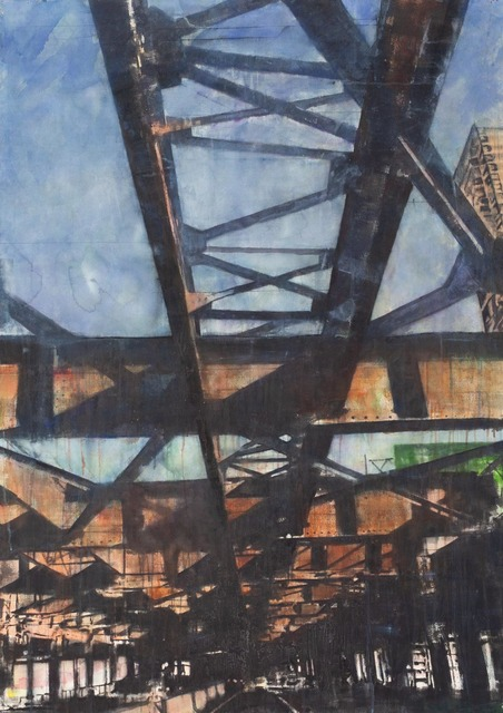 "Norbert Waysberg, '""Espoirs""', 2017, Gallery 104"