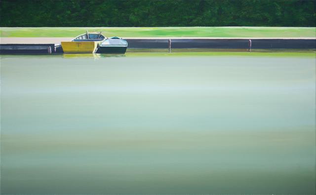 , 'Boats on the Vistula,' 2014, Galerie Sandhofer