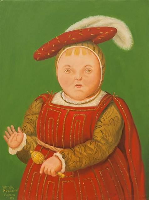 Fernando Botero, 'After Holbein', 2009, Gary Nader