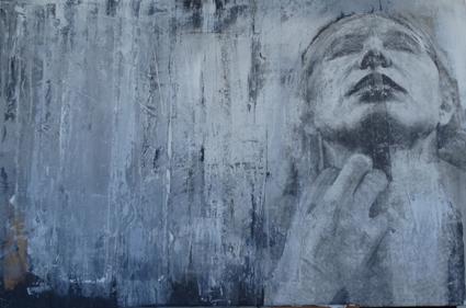 , 'Retrato con la mano,' , Sala Parés