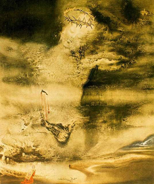 "Salvador Dalí, 'Illustration from ""Pater Noster""', 1966, Wallector"
