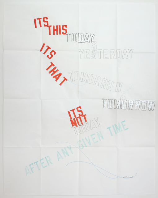 , 'ITS THIS TODAY & YESTERDAY,' 2014, Mai 36 Galerie