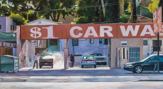 Patricia Chidlaw, 'Dollar Car Wash', 2014, George Billis Gallery