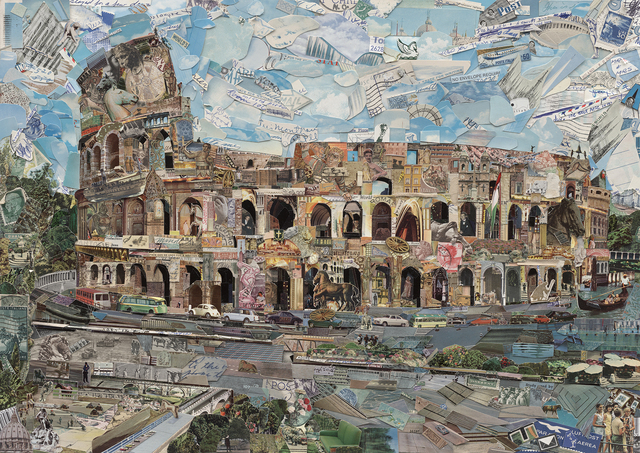 , 'Postcards from Nowhere: Rome,' 2014, Galeria Nara Roesler
