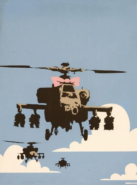 Banksy, 'Happy Choppers', 2003, Sworders