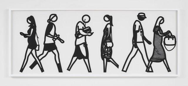 Julian Opie, 'Walking In Melbourne 4', 2018, Vertu Fine Art