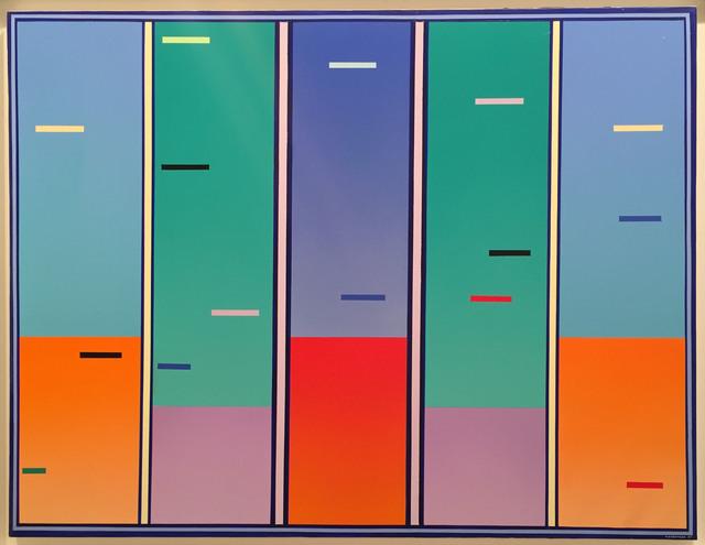 , 'Aurores Chromatiques,' 1997, Del Infinito