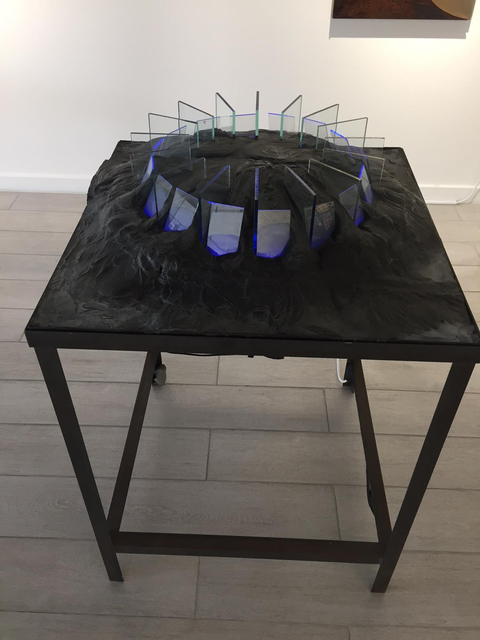 , 'Volcanic Ritual,' 2012, CODA Gallery