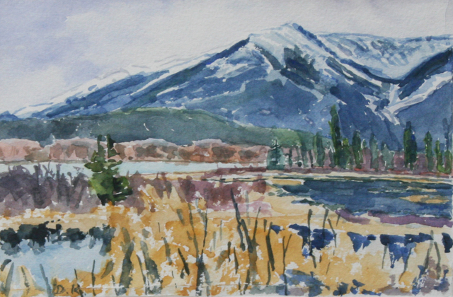 , 'In the Shadow of the Mountain,' , Wallace Galleries