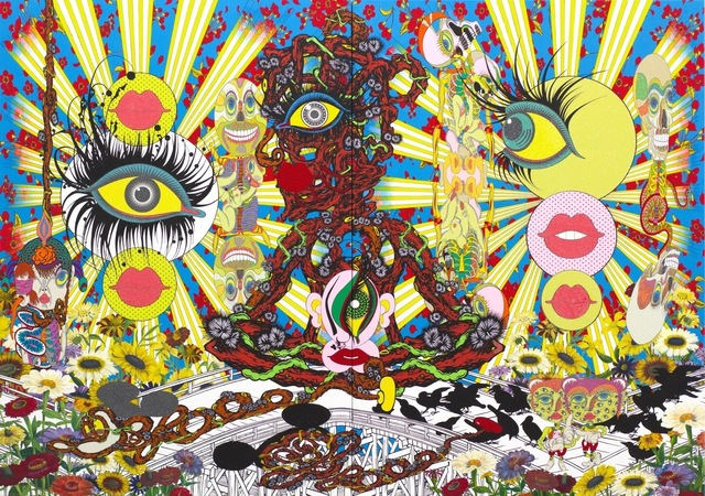 , 'Eye Ball Great Adventure,' 2014, Nanzuka