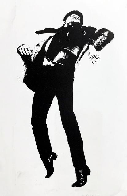 Robert Longo, 'Robert Longo Men In The Cities announcement card (Gagosian 1981)', 1981, Lot 180