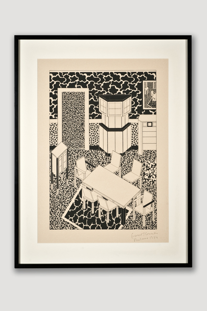 George Sowden, 'Interior 3 (Limited Edition Silkscreen)', 1984, The Modern Archive