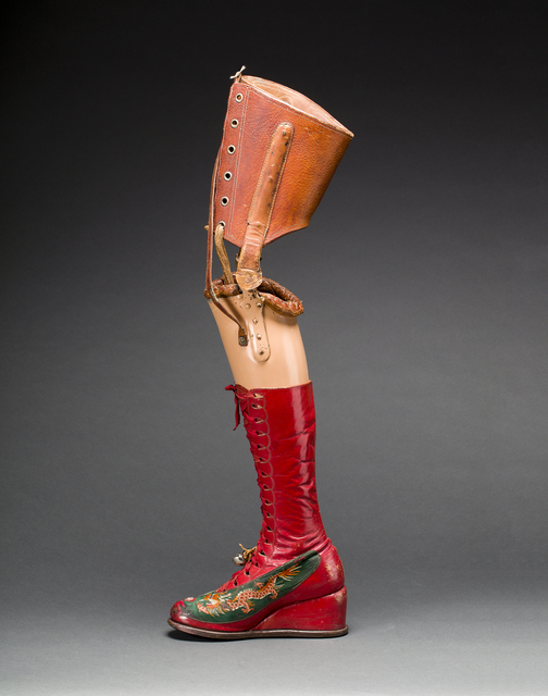 , 'Prosthetic leg with leather boot,' , Victoria and Albert Museum (V&A)