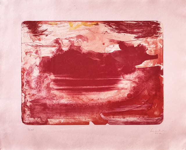 , 'Red Sea,' 1978-1982, Eckert Fine Art