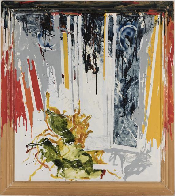 , 'Un pittore che si affaccia,' 1979, Galleria Giovanni Bonelli