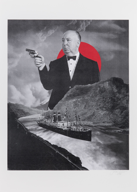 , 'Alfred Hitchcock,' 2016, Underdogs Gallery