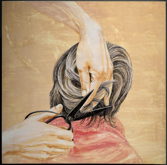 , 'Popo's Scissors: Cutting Hair,' 2018, Resource Art