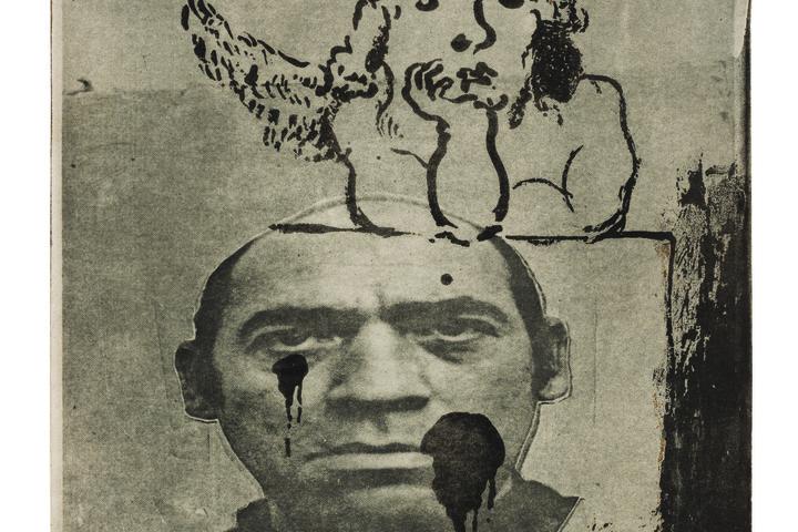 Convicted (Self Portrait) IV, 1980 Aquatint and photo-etching, Photo: Elad Sarig