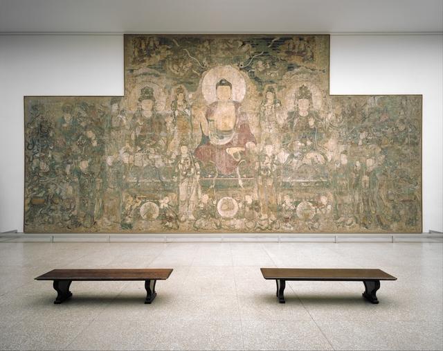 Unknown Chinese, 'Buddha of Medicine Bhaishajyaguru (Yaoshi fo) (薬師佛)', ca. 1319, The Metropolitan Museum of Art