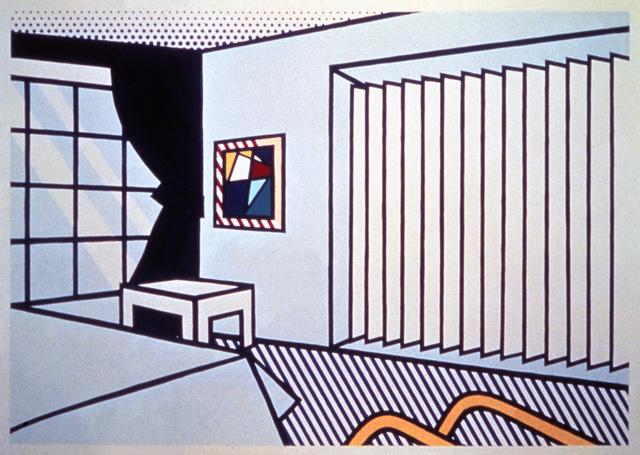 Roy Lichtenstein, 'Bedroom', 1990, The Watermill Center Benefit Auction
