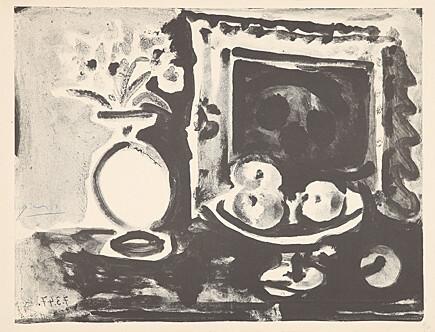 Pablo Picasso, 'Grande nature morte au comptoir (Großes Stillleben mit Obstschale)', 1947, Galerie Boisseree
