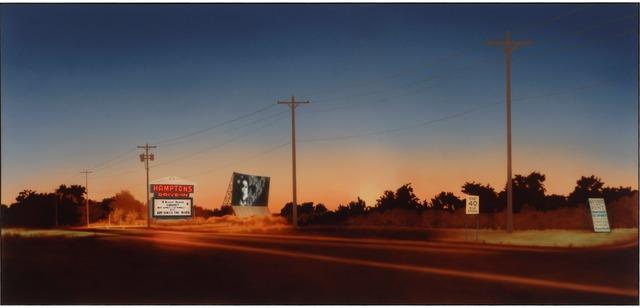 , 'Hamptons Drive-In,' 1974, Parrish Art Museum