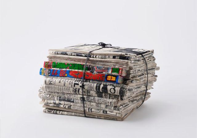 , 'News Paper P-15-2,' 2015, Sokyo Gallery