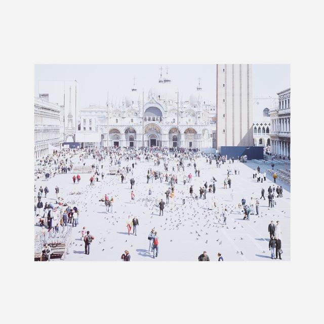 Massimo Vitali, 'Venezia San Marco (from the Landscapes with Figures portfolio)', 2006, Wright