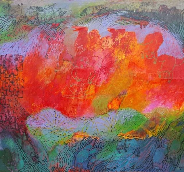 , 'Lotus,' 2015, ARTSPACE 8