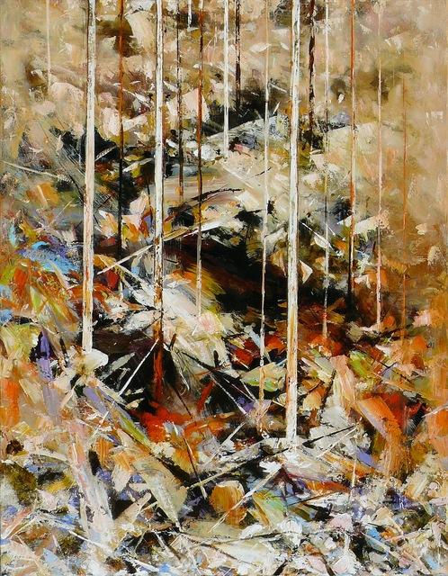 Paul Battams, 'Hawkesbury Bluff', 2013, Painting, Acrylic on Canvas, Wentworth Galleries