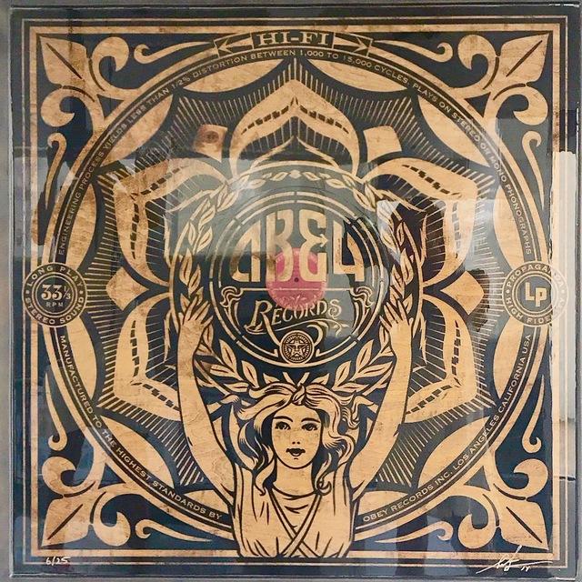 Shepard Fairey (OBEY), 'Lotus Woman', 2014, Gallery 211