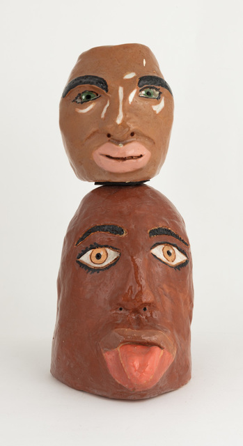 Gerald Wiggins, 'Carl and Eric', 2018, Sculpture, Glazed ceramic, Creativity Explored